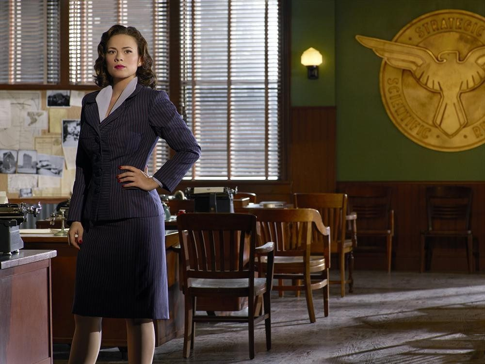 "MARVEL'S AGENT CARTER - ABC's ""Marvel's Agent Carter"" stars Hayley Atwell as Agent Peggy Carter. (ABC/Bob D'Amico)"