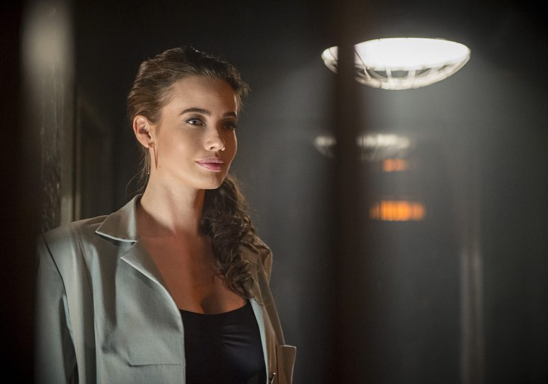 """DC's Legends of Tomorrow -- """"Fail-Safe"""" -- Image LGN105b_0293b.jpg -- Pictured: Stephanie Corneliussen as Valentina Vostok -- Photo: Diyah Pera/The CW -- © 2016 The CW Network, LLC. All Rights Reserved."""