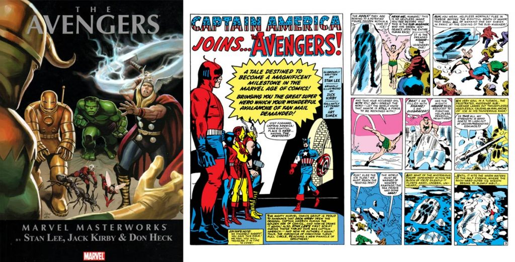 Where-to-start-reading-Captain-America-Comics-Marvel-Masterworks-Golden-Age-Avengers