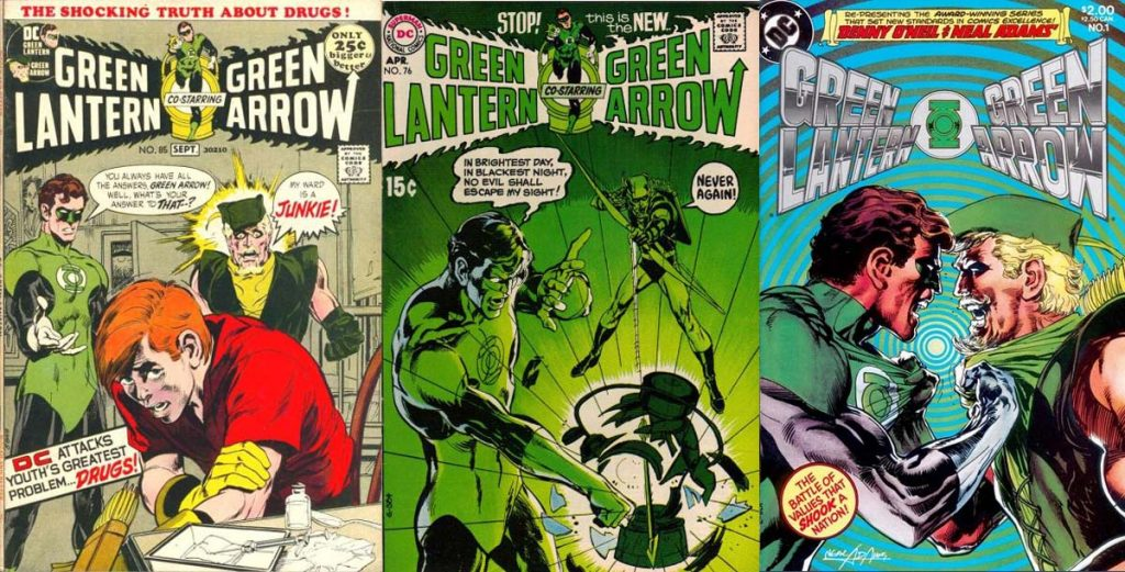 Where-to-start-reading-Green-Arrow-comics-Hard-Travelling-Heroes