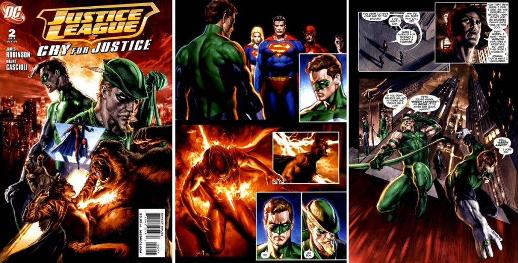 Where-to-start-reading-Green-Arrow-comics-Justice-League-Cry-for-Justice